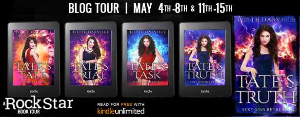 {Review+Giveaway} Tate's Tale by Lilith Darville