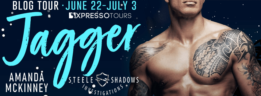 {Review+Giveaway} Jagger: Steele Shadows Investigations by Amanda McKinney
