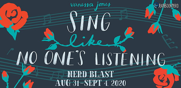 {Release Day Review+Giveaway} SING LIKE NO ONE'S LISTENING by Vanessa Jones