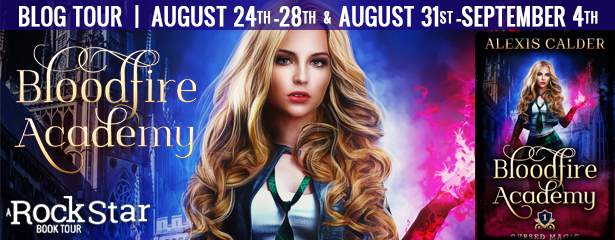 {Review+Giveaway} Bloodfire Academy by Alexis Calder