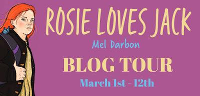 {Guest Post+Giveaway} Rosie Loves Jack by Mel Darbon