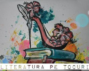 Literatura pe tocuri -Logo
