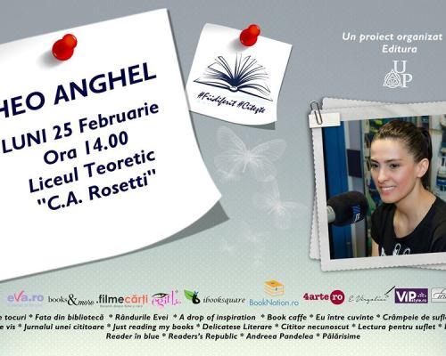 Eveniment #Fiidiferit #Citește alături de Editura Up și Theo Anghel la Liceul Teoretic C.A.Rosetti, București