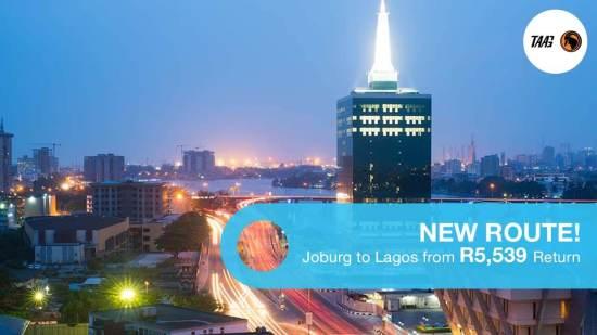 Book Cheap Flights to Lagos