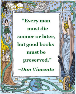 Books Must Be Preserved