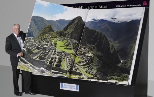 Earth Platinum - World's largest Atlas