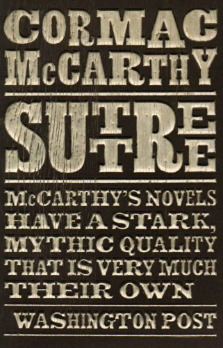 Image result for suttree cormac mccarthy book cover