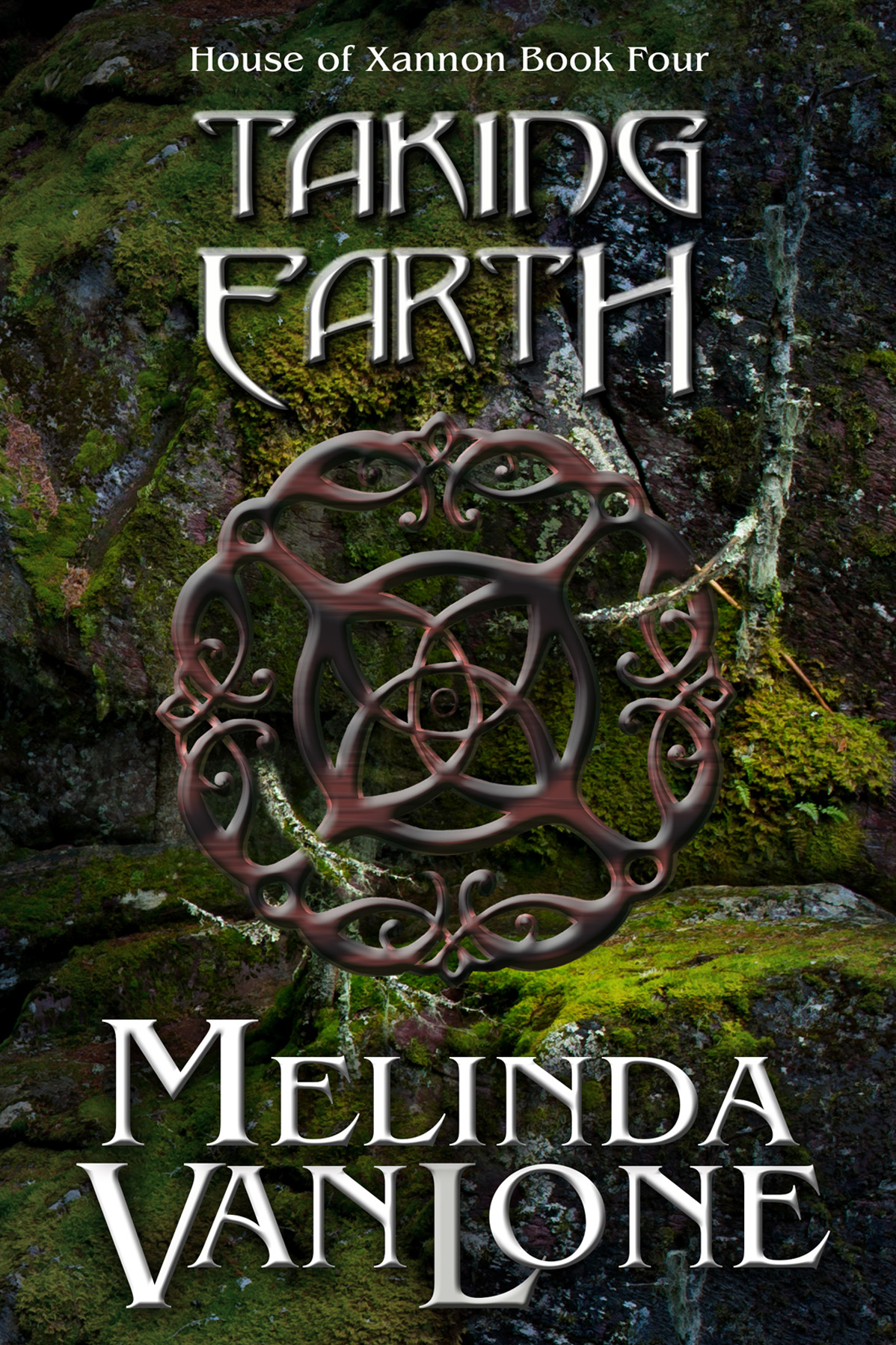 Taking Earth by Melinda Van Lone, cover by Book Cover Corner