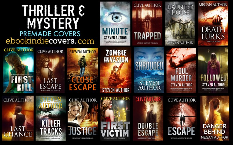 Thriller Premade Covers June 2016 s