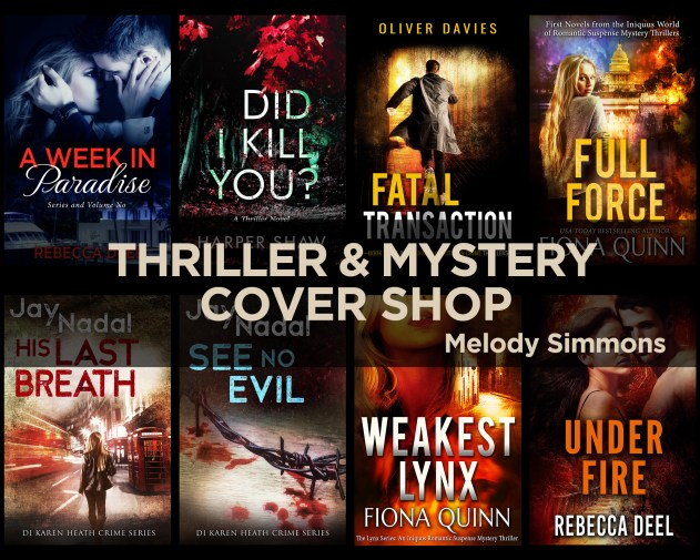 Thriller and Mystery Premade Shop Melody Simmons