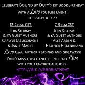 Join a Live Streaming Event with Stormy Smith & Four Guest Authors + Prizes!