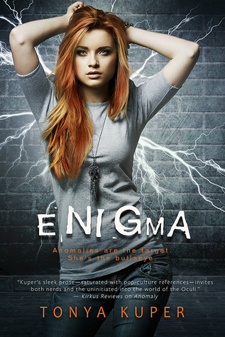 Blog Tour, Review & Giveaway: Enigma (Schrodinger's Consortium #2) by Tonya Kuper