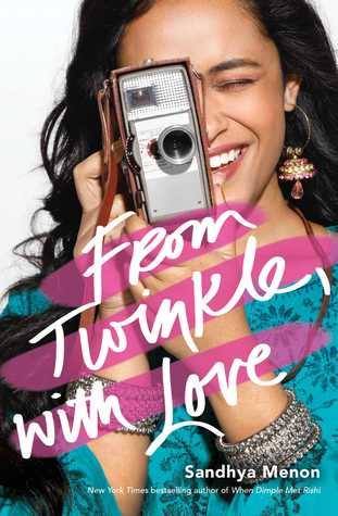 Cover Crush: From Twinkle, with Love by Sandhya Menon