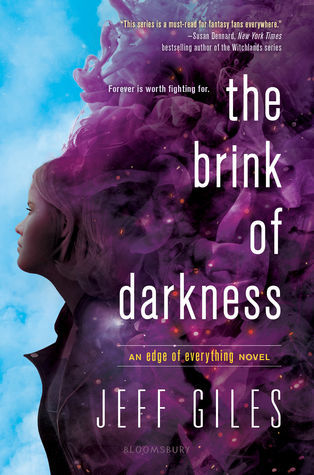 Cover Crush: The Brink of Darkness by Jeff Giles