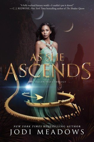 Books On Our Radar: As She Ascends (Fallen Isles #2) by Jodi Meadows