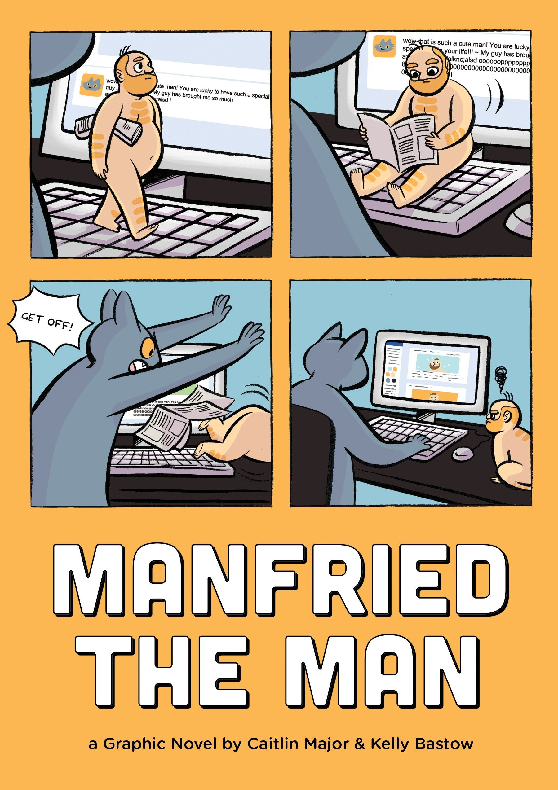 Review: Manfried the Man by Caitlin Major & Kelly Bastow