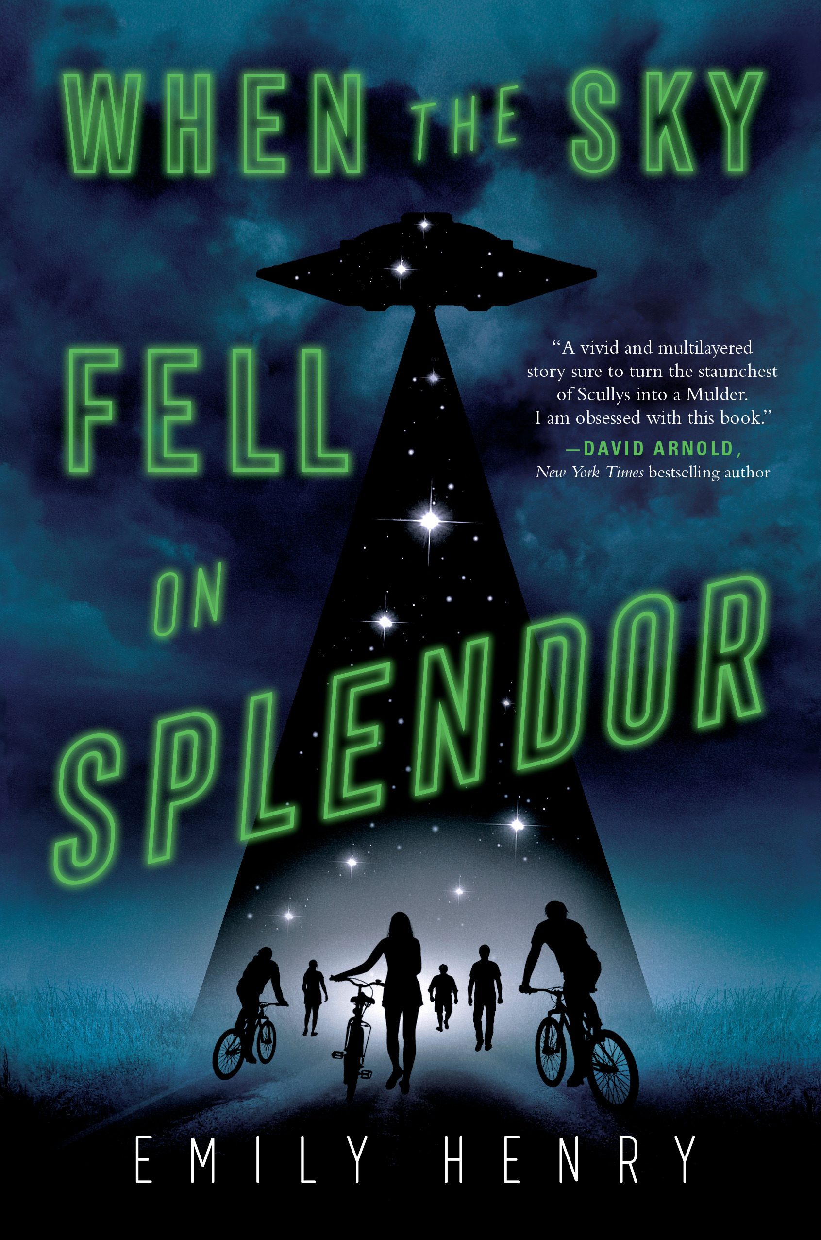 Blog Tour & Feature: When the Sky Fell on Splendor by Emily Henry