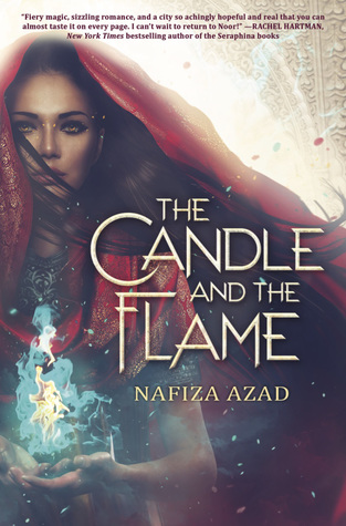 Cover Crush: The Candle and the Flame by Nafiza Azad