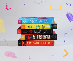October YA Book of the Month Club Stack
