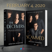 Cover Reveal: Scammed (The Vale Hall #2) by Kristen Simmons