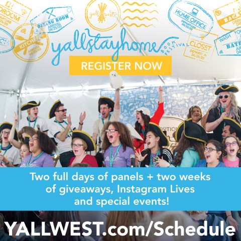 yallwest.com website link to register for YallStayHome virtual event