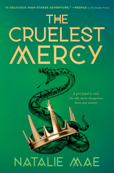 Cover Reveal: The Cruelest Mercy (The Kinder Poison #2) by Natalie Mae