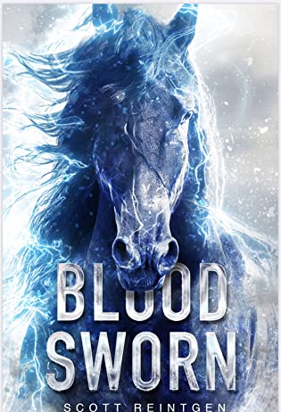 Cover Crush: Blood Sworn by Scott Reintgen