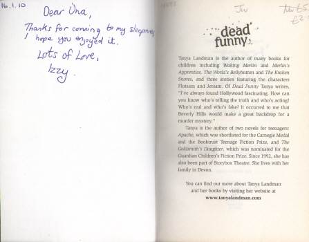 Dead Funny by Tanya Landman