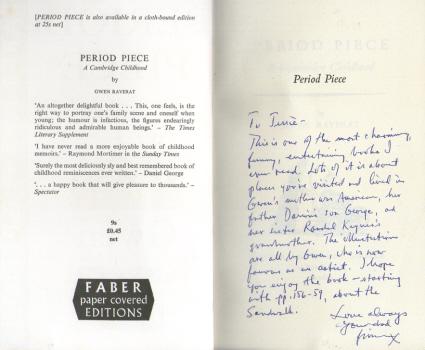 Period Piece - A Cambridge Childhood by Gwen Raverat