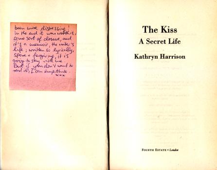 The Kiss by Kathryn Harrison 1