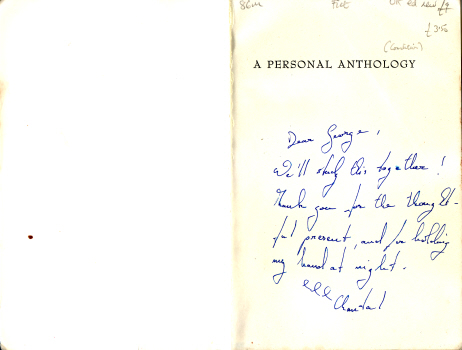 A Personal Anthology by Jorge Luis Borges 2