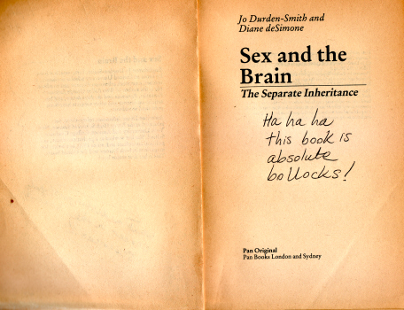 Sex and the Brain by Jo Durden-Smith and Diane de Simone 8