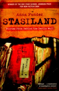 Stasiland - Stories From Behind the Berlin Wall by Anna Funder 2
