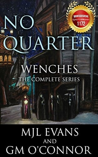No Quarter: Wenches – The Complete Series: A Piratical Suspenseful Romance