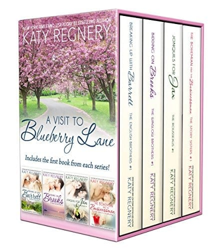 A Visit to Blueberry Lane: (a collection of four complete novels) (The Blueberry Lane Series)