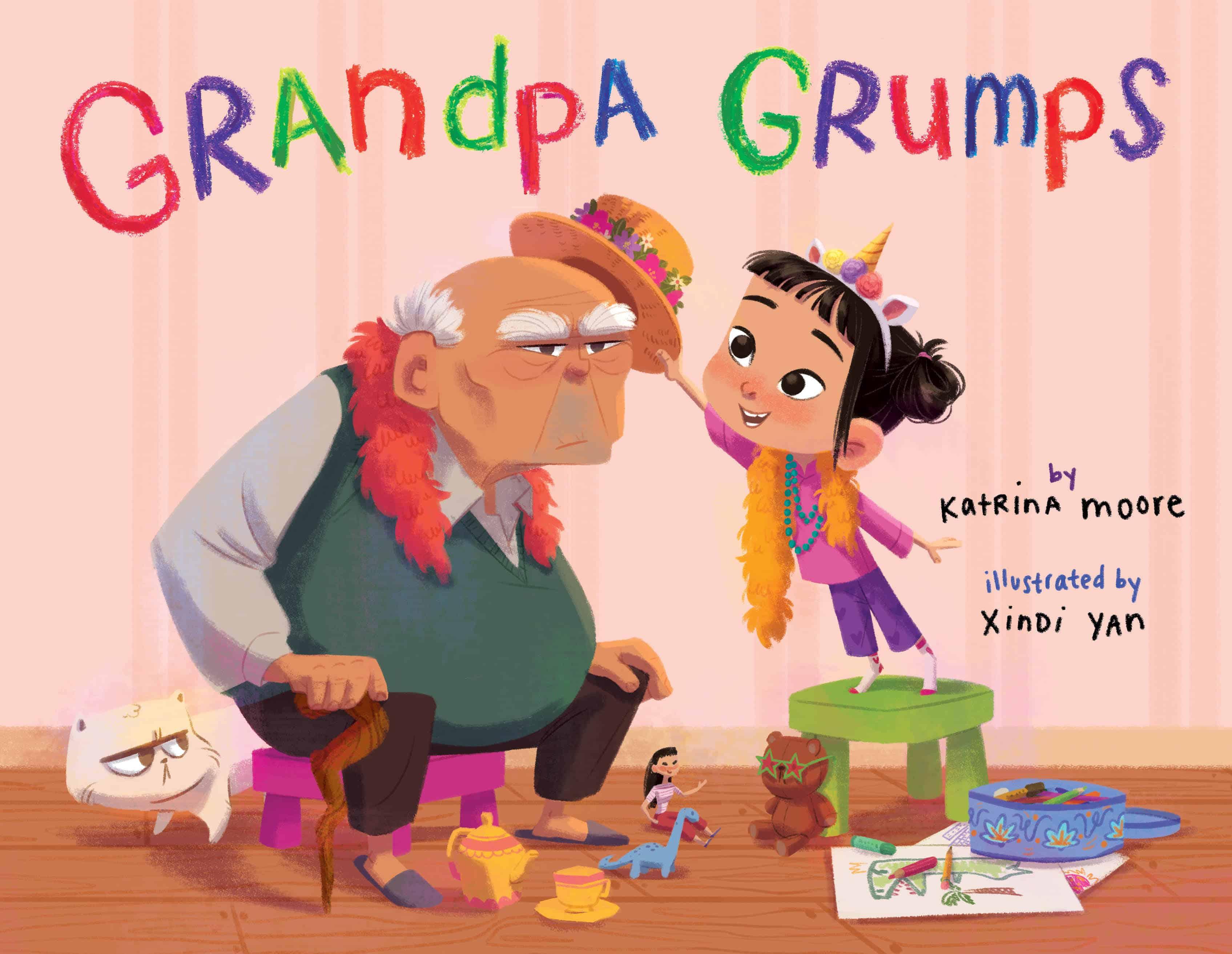 Grandpa Grumps by Katrina Moore