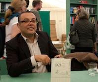 Atef Abu Saif at Hay Fest 1