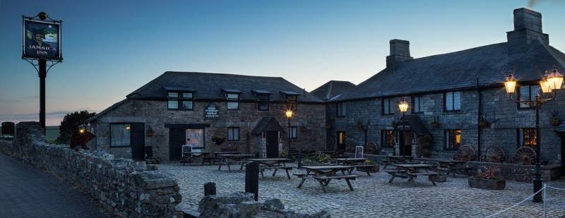 Jamaica Inn on Bodmin Moor,  Cornwall, the inspiration for the novel of the same name by Daphne du Maurier.