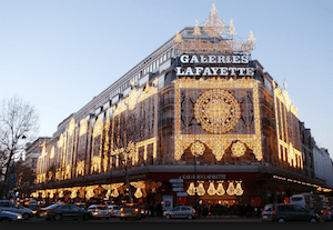 Galaries Lafayette Paris
