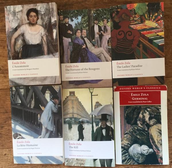 Zola novels read