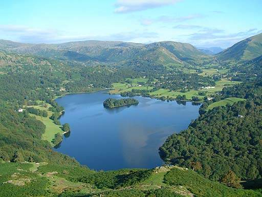 Grasmere Lake, beloved by William Wordsworth