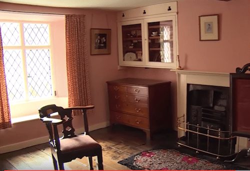 William Wordsworth's study
