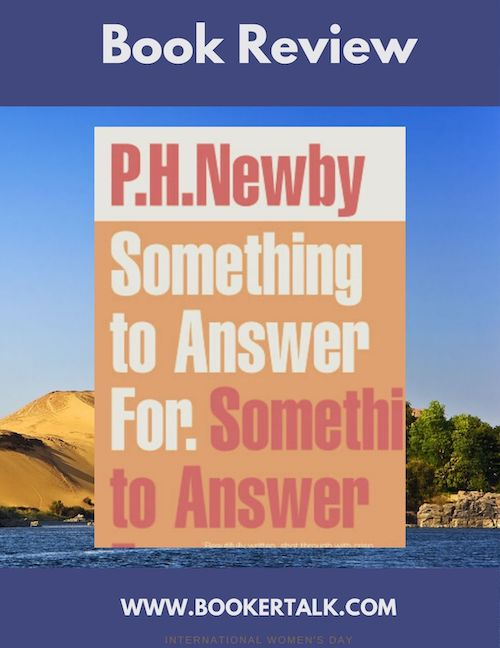 Front cover of Something To Answer For by P H Newby