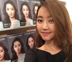 Portrait photograph of Yeonmi Park, author of In Order to Live , a memoir of a girl who escaped North Korea