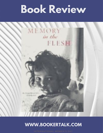 Cover image of the book Memory in the Flesh by the Algerian author Ahlam Mosteghanami