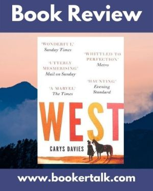 Cover image of West, a novel by Carys Davies
