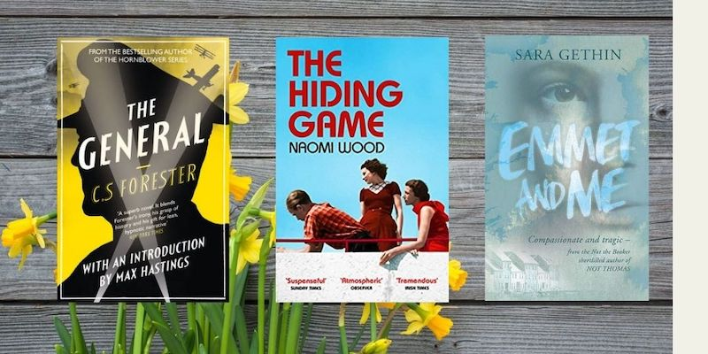 3 novels that feature in my reading plans for April