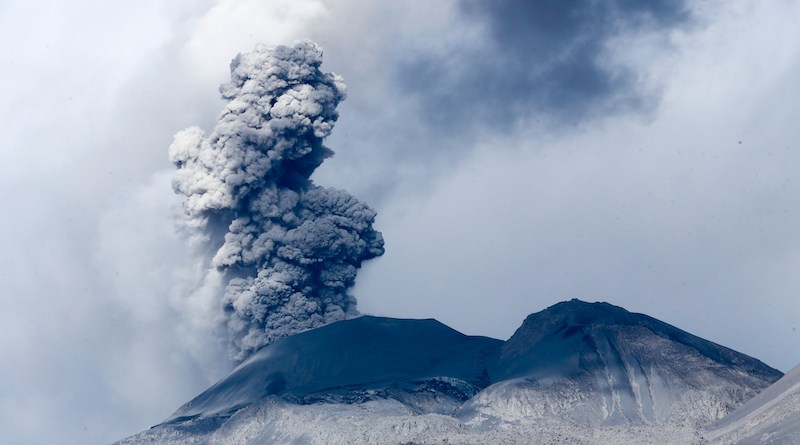 Volcanos are a desirable destination for tourists as portrayed inthe Disaster Tourist by Yun Ko-eun