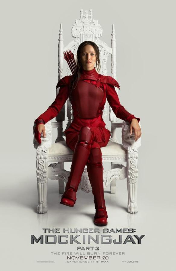 Katniss in red suit