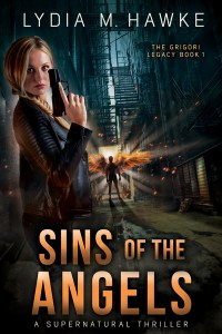 Sins of the Angels: A Supernatural Thriller by Lydia M. Hawke